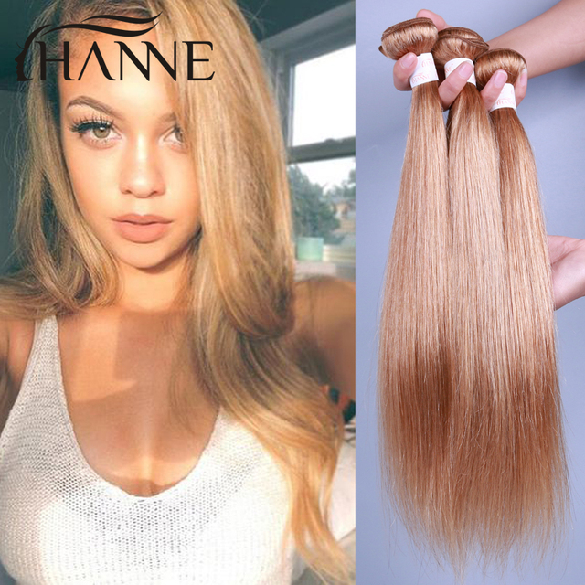 7a Brazilian Honey Blonde Hair Extensions Virgin Brazilian Straight