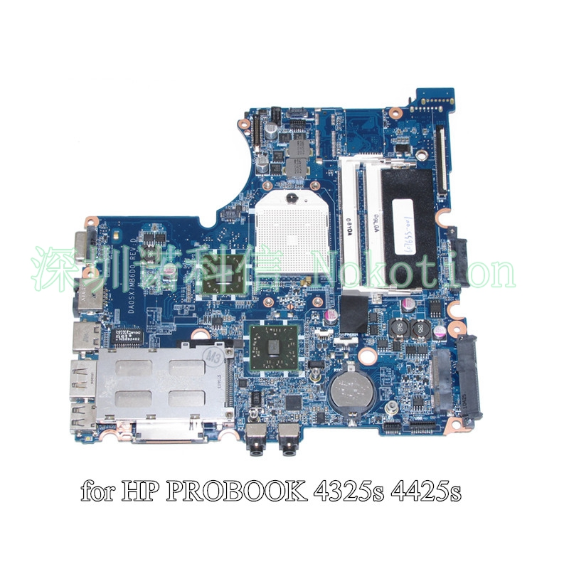 NOKOTION DA0SX7MB6D0 For HP Probook 4325S 4425S laptop motherboard DDR3 607655-001NOKOTION DA0SX7MB6D0 For HP Probook 4325S 4425S laptop motherboard DDR3 607655-001