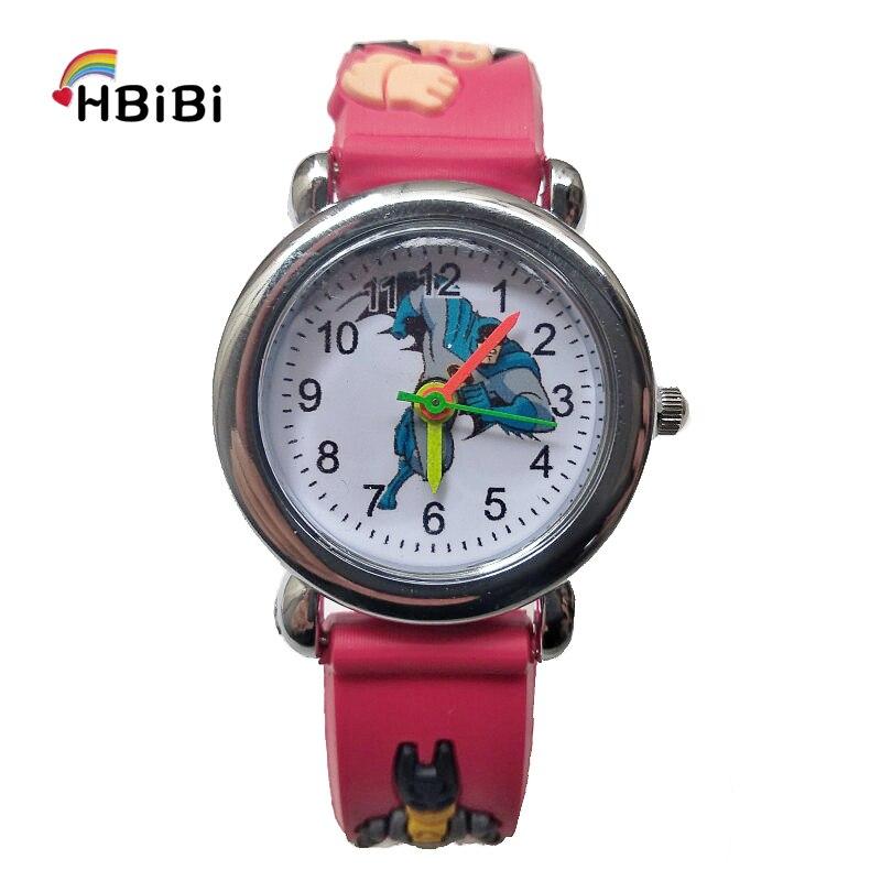 Super Hero Children's Watch Kids Watches For Girls Boys Christmas Gifts Reloj Infantil Child Quartz Wristwatch Men Sports Clock
