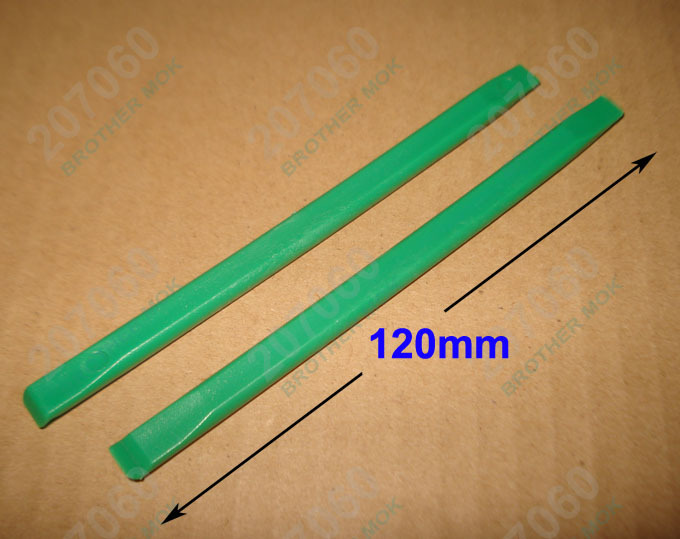12CM Green Flat head Plastic Pry Tool Prying tools Crowbar Opening Tools for Tablet PC iPad