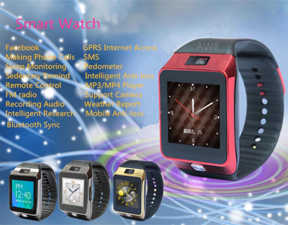 купить Health Monitoring Bluetooth Sync Children's Adults Smart Watch for HUAWEI P9 P9 Plus Mate 9 8 7 MateS P8 P8 Max G7 G7 Plus P7 P6 по цене 6261.21 рублей