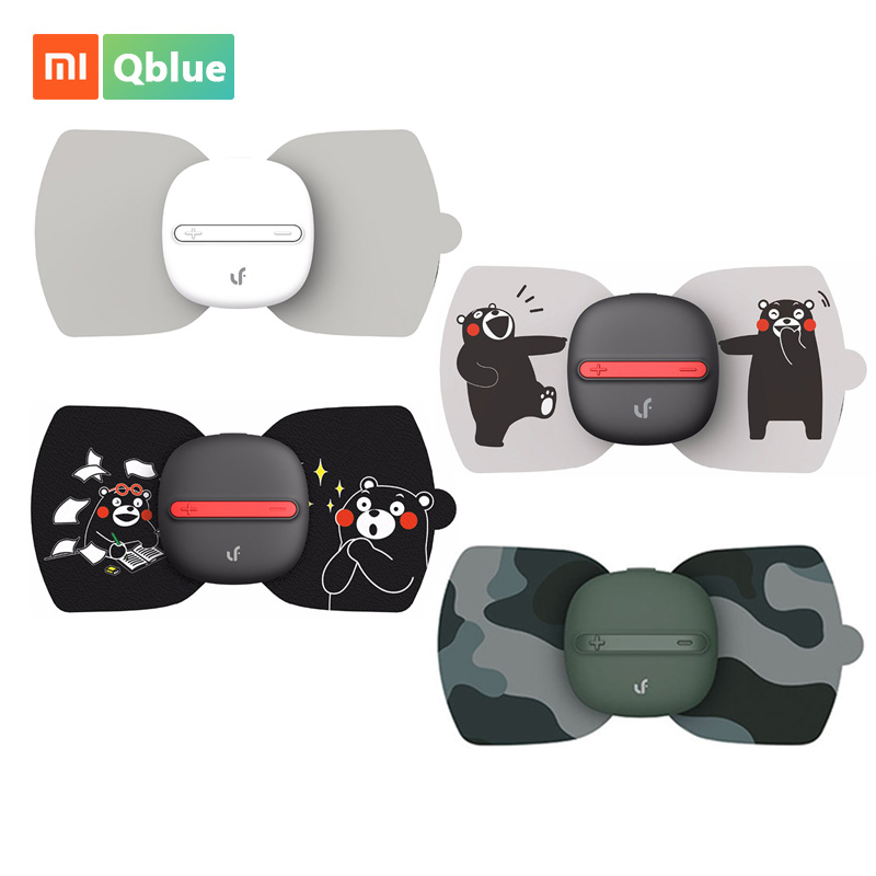 Xiaomi Mijia LF Portable Magic Massager Stick Full Body Relax Muscle Therapy Massager Magic Touch massage Smart Stickers Kumamon replace stick for xiaomi mijia newest lf electrical stimulator full body relax muscle therapy massager magic massage stickers