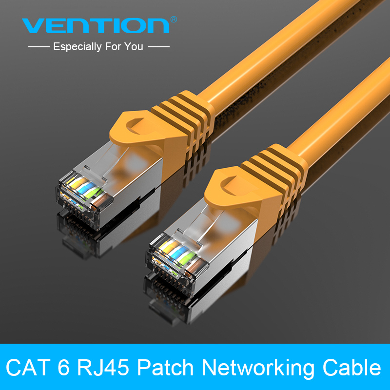 VENTION CAT6 RJ45 Patch Ethernet LAN Network Cable 0.5m 1m 1.5m 2m 3m 5m 8m 10m for Router Switch