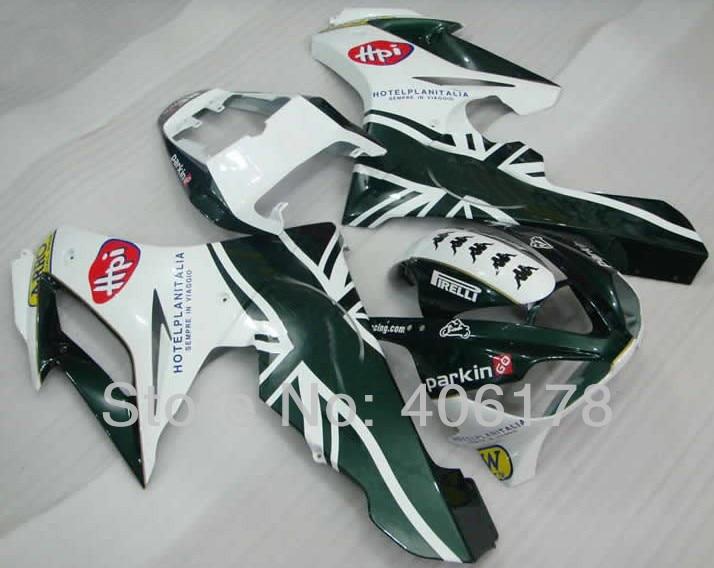 Hot Sales,Cheap Aftermarket Fairing Set For Triumph Daytona 675 06 08 Racing Motorcycle PIRELLI Fairings Kit (Injection molding)