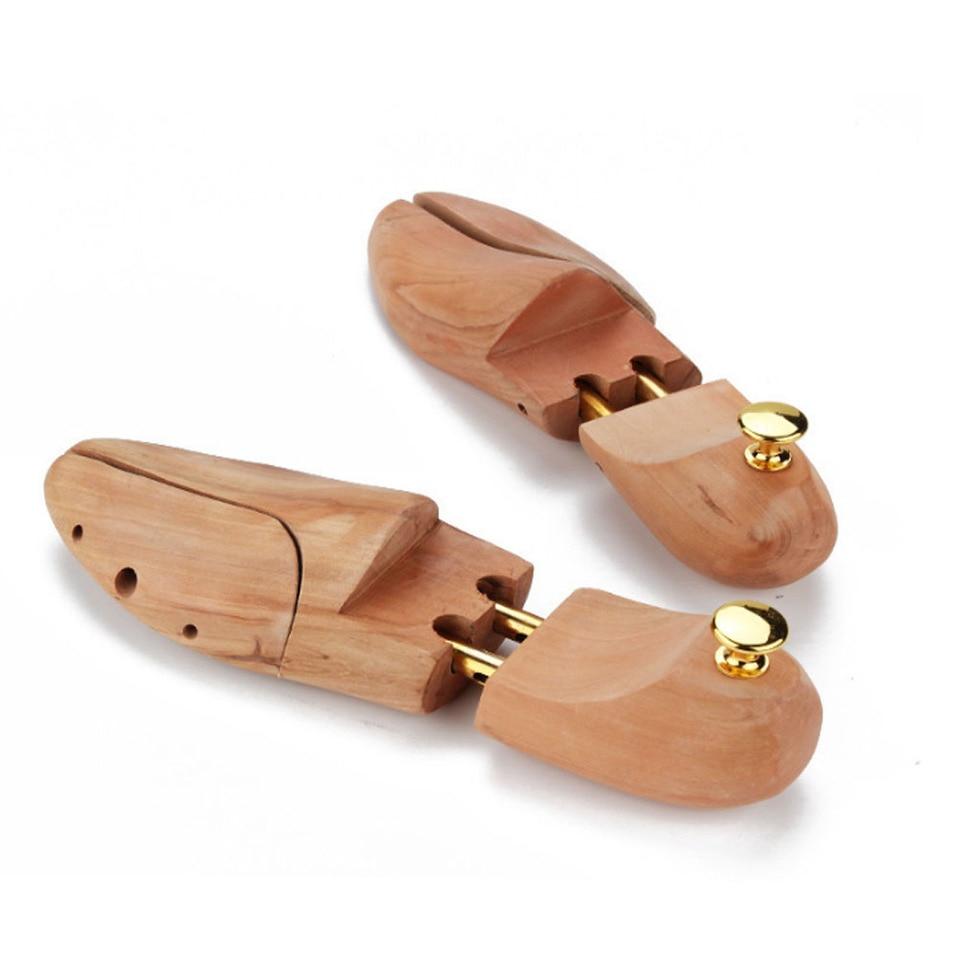 Crazyfly /Árbol de zapatos de madera para hombres y mujeres resistente antioxidante ajustable suave para zapatos de madera