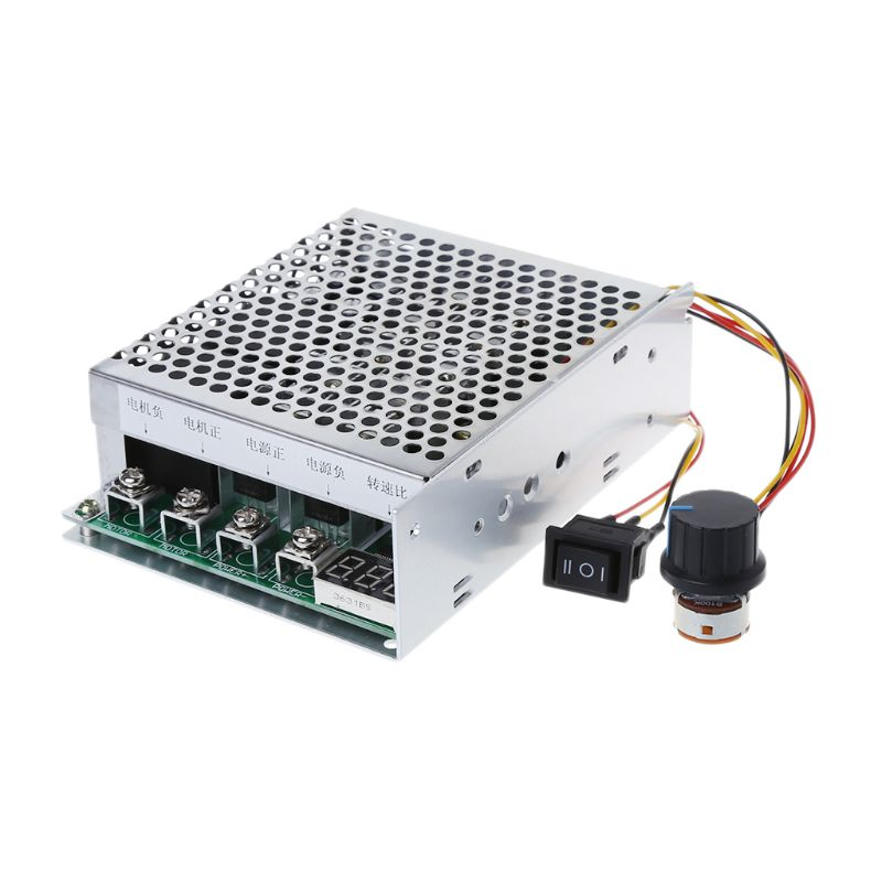 все цены на DC 10-55V 100A Motor Speed Controller Reversible PWM Control Forward/Reverse Speed Controller онлайн