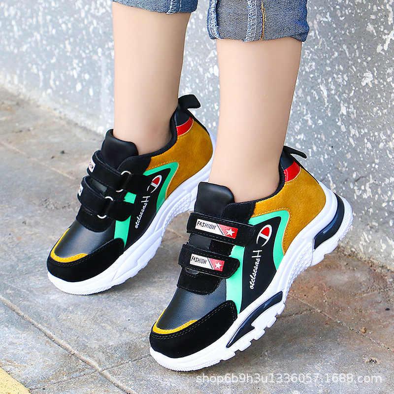 2020 NUOVI Bambini della Molla di Sport Scarpe Da Ginnastica di Moda Per Bambini Antiscivolo Morbido scarpe Da Tennis Delle Ragazze Dei Ragazzi Scarpe Da Bambino Sveglio Runningg Scarpe