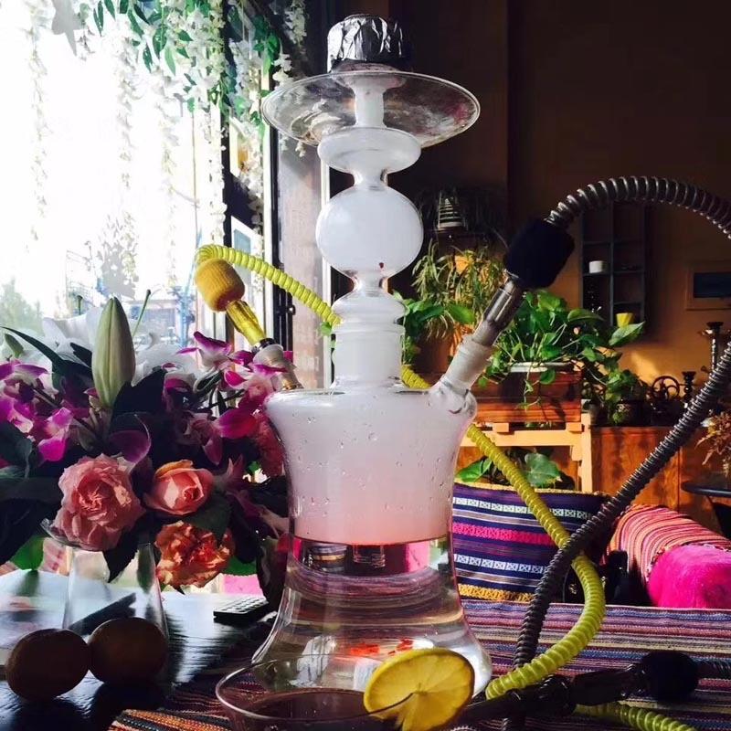 Arab Hookah Middle East With Lights Factory Supply Hookah Pipe Hookah Shisha Smoking Water Pipe Complete Set