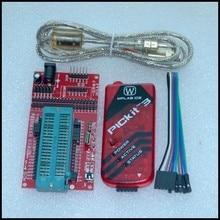 Программирование/эмулятор pickit 3 + микроконтроллер PIC/минимальная системная плата/макетная плата/универсальное сидение для программирования