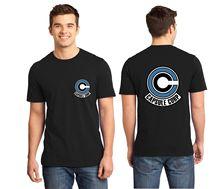 BLUE II Tee Z CAPSULE Corp Dragon Ball MEN T-shirt S-5XL Fast Shipping 100% Free shipping tshirt Harajuku Tops Fashion