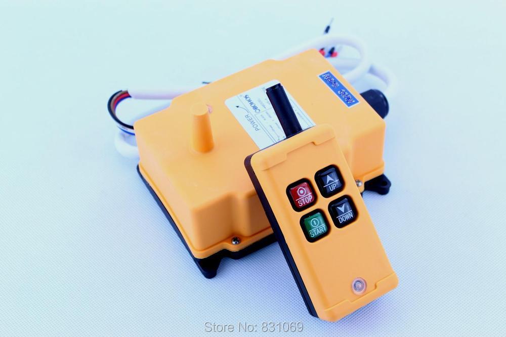все цены на  1pcs HS-4 AC110V 4 Channels Control Hoist Crane Radio Remote Control Sysem Industrial Remote Control Brand New  онлайн