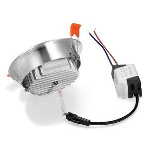 Image 2 - 1X 3W 5W 7W 12W 220V yüksek güç LED Downlight gömme LED Spot ışık lambası alüminyum ampul oturma odası için yatak odası aydınlatması