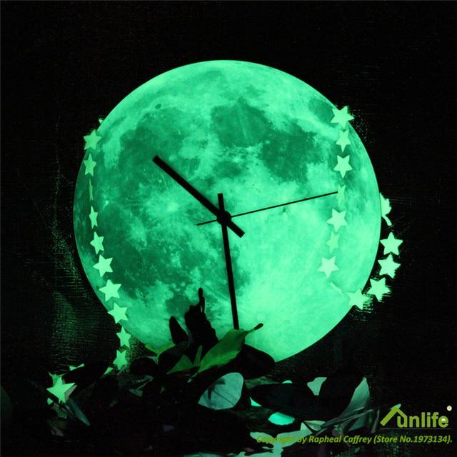 Aliexpress.com : Buy Funlife Glow in the Dark Moon Wall ...