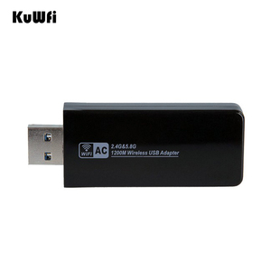 Image 5 - 11AC 1200Mbps USB3.0 Wireless Adapter 2.4G/5.8G Dual Band USB Wifi Receiver 2T2R Antenna AP Wireless Network Card for Desktop