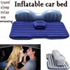 2V Pump +Inflatable Mattress Car Back Seat Cover Air Mattress Travel Bed Portable Holiday Inflatable Camping Pad car sex bed