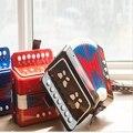 Multifunción 7 teclas teclado juguete de la música de acordeón/instrumentos musicales principiantes/niño bebé 7-note xilófono musical toys d010
