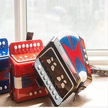 Multifunction 7 Keys Keyboard Music Toy concertina/musical instruments Beginners/Child Baby 7-Note Xylophone Musical Toys D010
