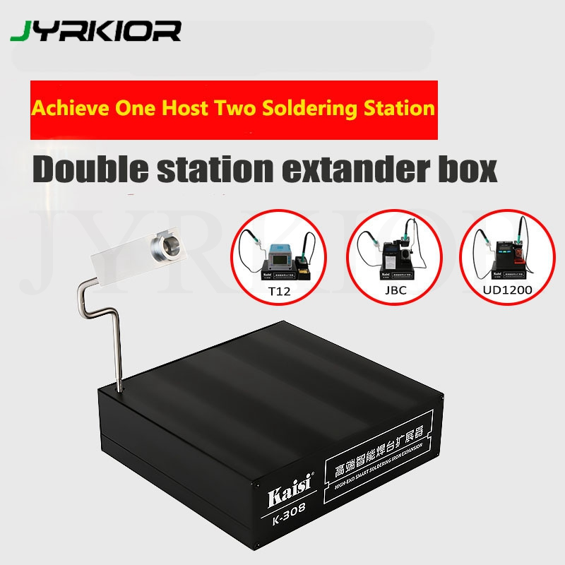 Kaisi K-308 High-End Smart Soldering Station Extender Expansion Handle Compatible With JBC/T12/jabe UD 1200 Soldering Iron Tip