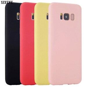 Silicon Case For Samsung Galaxy S6 S7 Edge S8 S9 Plus S4 S5 A3 A5 A7 2016 J3 J5 J7 2017 Prime Note 4 5 8 9 Cell Phone Back Cover