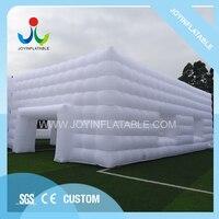 Рекламная акция большой надувной тент для мероприятий, светлый белый свадебный шатер