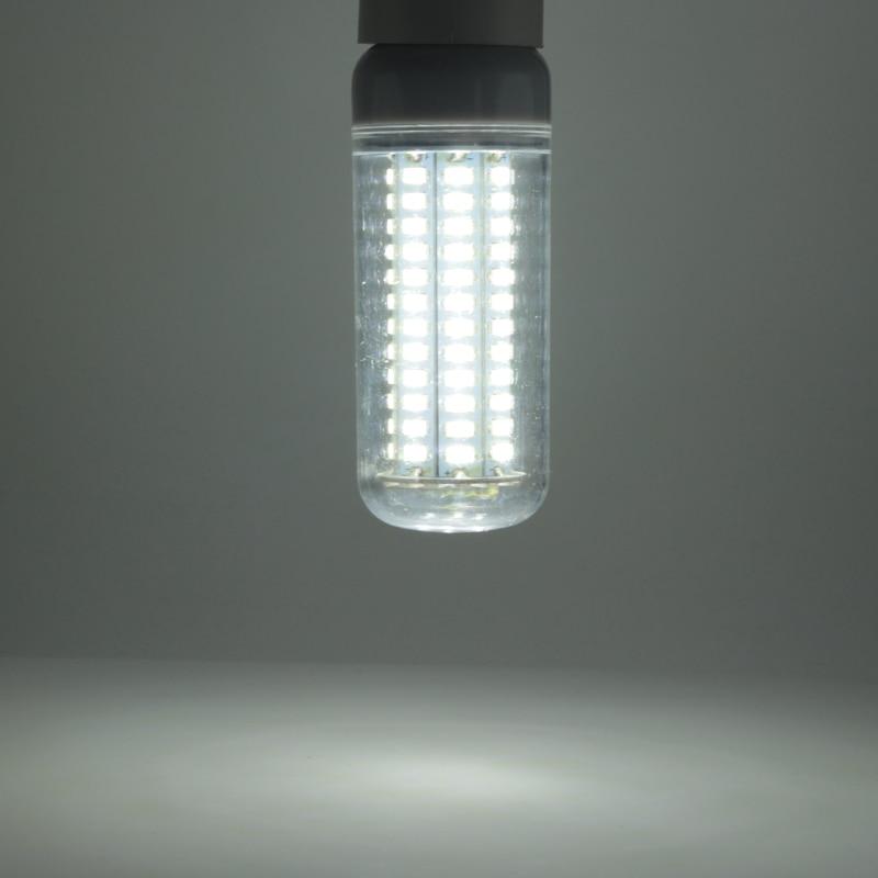 Купить с кэшбэком 1X ampoule led e27 E14 B22 super 25W corn bulb light high power 110v 220v home lighting smd 5730 144 leds lamp lampade white