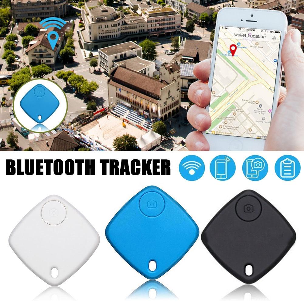 A due Vie di Allarme Key Finder Tracker Bluetooth Keyfinder GPS Bambini Del Sacchetto Del Raccoglitore Chiave Finder GPS Tag Locator Promemoria
