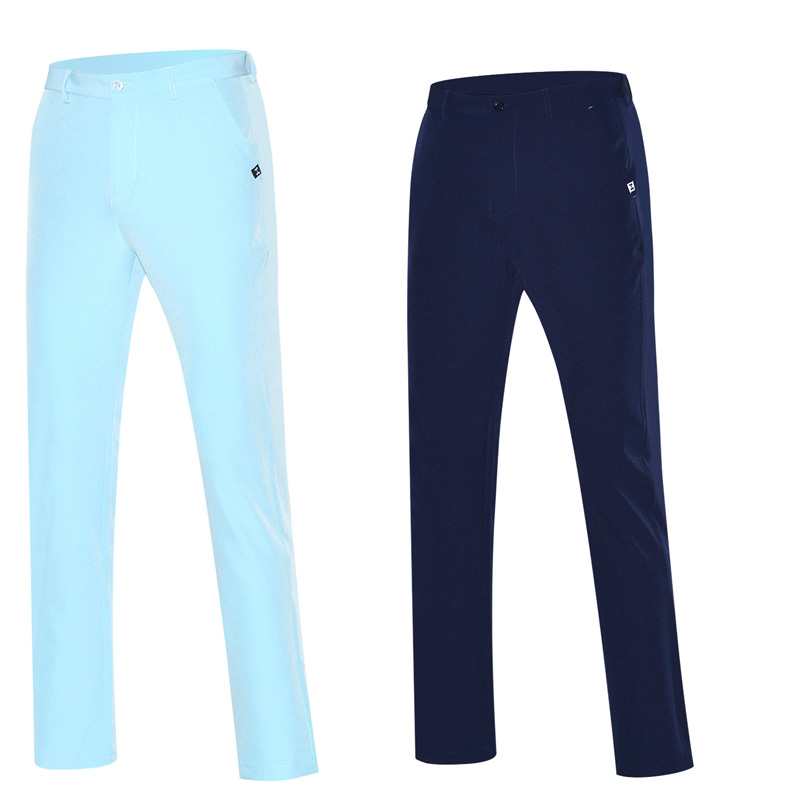 2018 men golf pants sports trousers for summer and spring all-match korean pants size 30`40 golf clothing men brand pants White size 32 44 hip hop pants plus size jeans leisure sports in men s trousers in europe and the men trousers