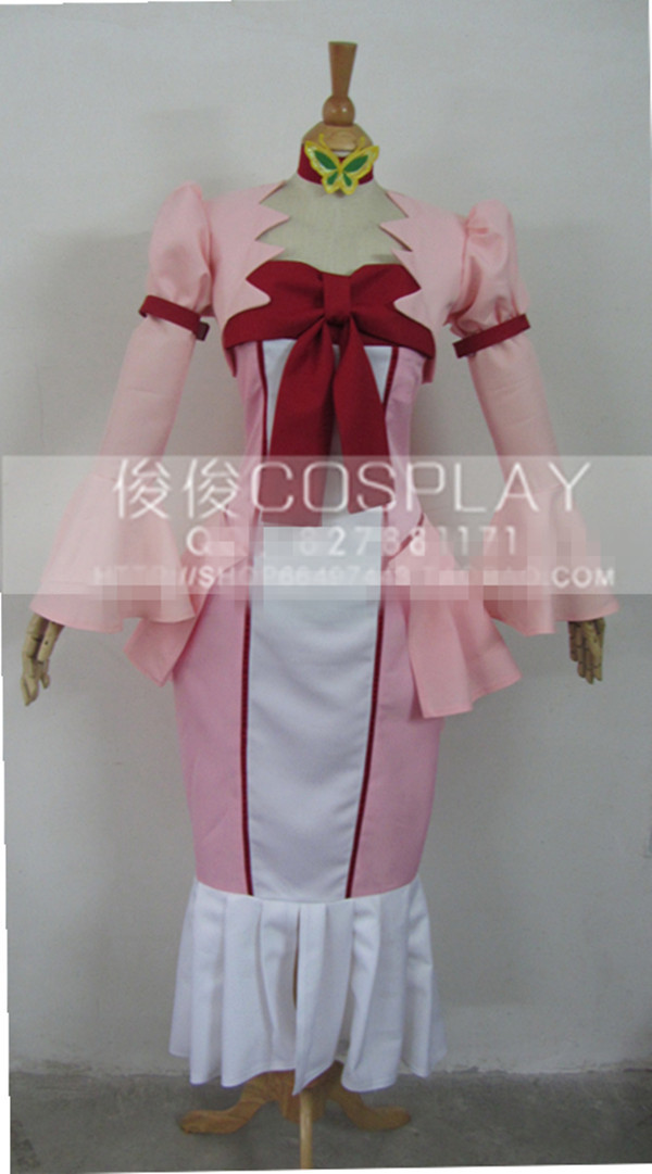 Code Geass Nunnally In Wonderland Lolita Full Pink Dress Cosplay Anime Costume Custom-made Any Size Free Shipping