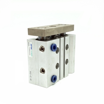 Original AirTAC Pneumatic Cylinder TCM20X30S Tri-rod Cylinder Three Rod Air Cylinder