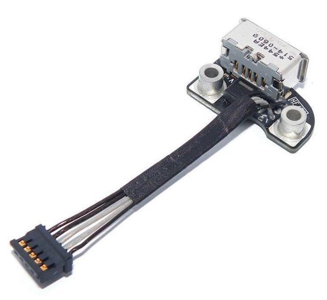 TPFEEL DC BOARD for Macbook Pro A1286 A1278 AC DC In Power Port Plug Socket Jack Board 820-2565-A