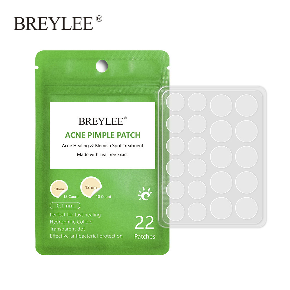 Daily Night Facial Mask Remover Acne Stickers Bactericidal Protect Pimple Patch Heal Waterproof Skin Care Tea Tree Naturally