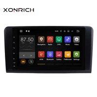 Xonrich 2 din Android 8,1 автомобиль без DVD мультимедиа проигрыватель для Mercedes Benz ML W164 ML300 GL X164 GL320 350 420 450 500 gps радио
