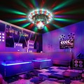Voice Control LED Laser Pointer Disco Stage Light Laser Projector Stage Lighting Effect Lamp Bulb for DJ Party Club Wedding