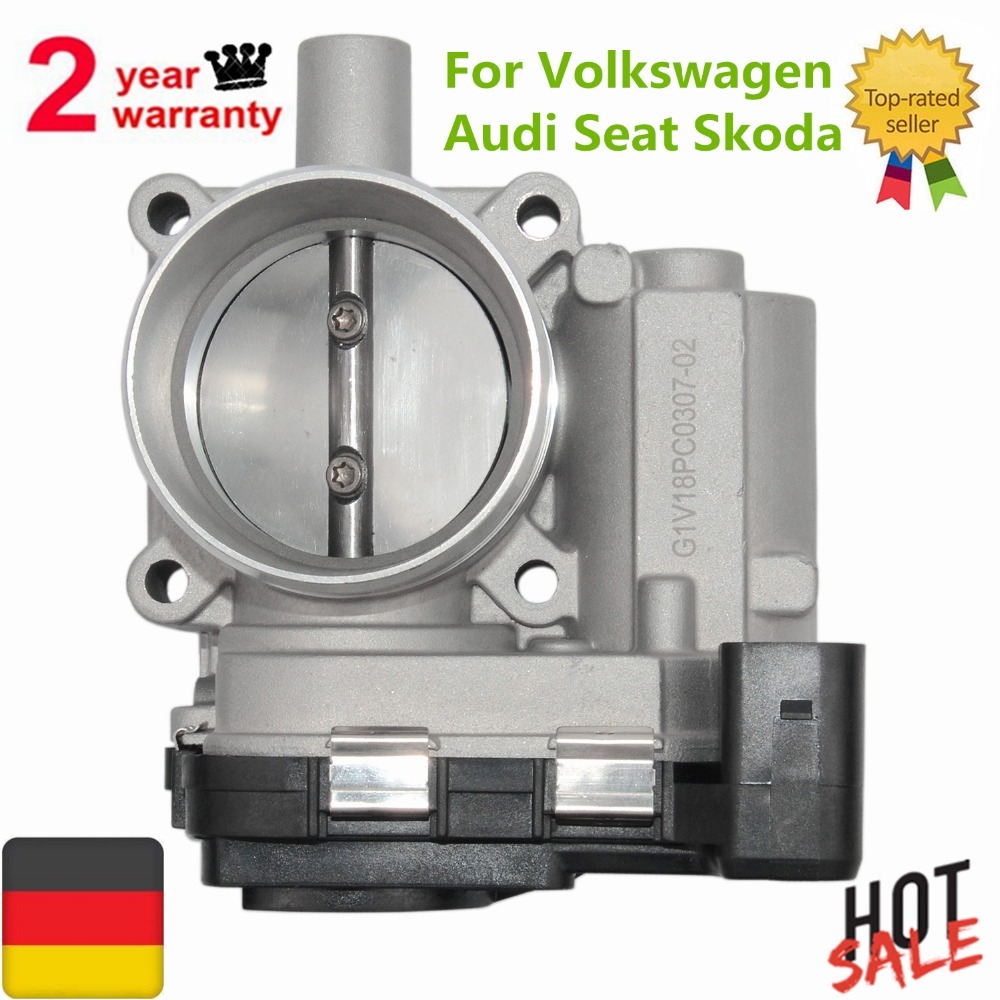 Throttle body For Volkswagen Jetta III Golf Passat Polo Audi A3 Seat Leon Cordoba Ibiza IV For Skoda Octavia Superb Fabia наклейки vw volkswagen passat touran seat ibiza skoda octavia fabia 3