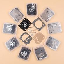 10 pçs/lote kit carburador para husqvarna 240 236 235 435 e jonsered cs2238 cs2234 zama rb149, rb 149 conjunto de diafragma