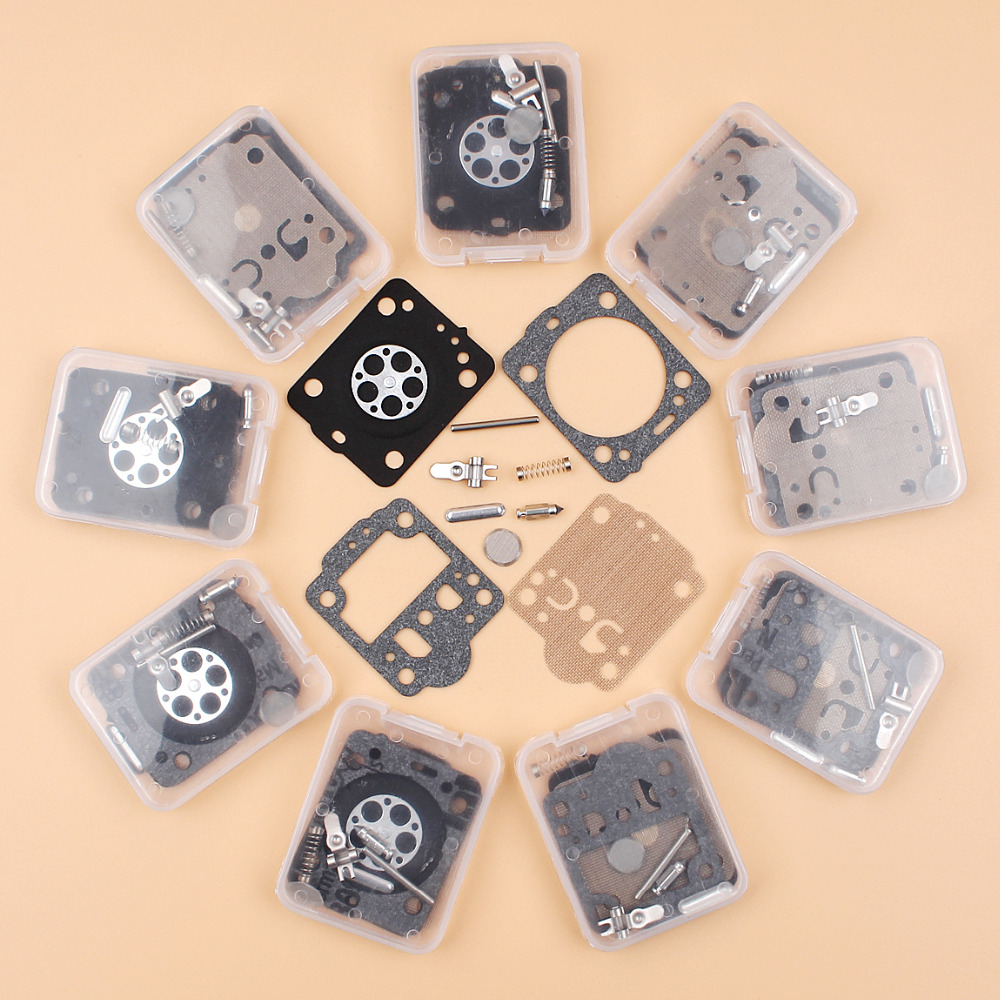 10Pcs/lot Carburetor Kit For HUSQVARNA 240 236 235 435 E JONSERED CS2238 CS2234 ZAMA RB149, RB 149 Diaphragm Set