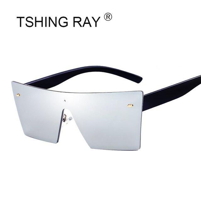 Tshing 2018 nueva montura Gafas de sol moda Italia marca Catwalk ...