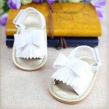 Летняя обувь для новорожденных девочек; Летние резиновые забавные сандалии с бантом; повседневная детская обувь для маленьких девочек