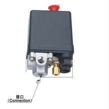 Высокое качество 90-120psi сверхмощный переключатель давления для воздушного компрессора клапан управления 4 порта