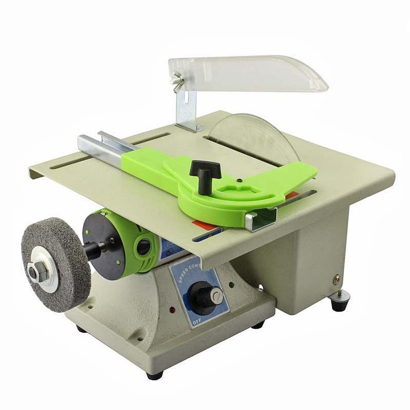 Wszechstronność na stole Szlifierka 480W Piła stołowa Polerka - Maszyny do obróbki drewna - Zdjęcie 3