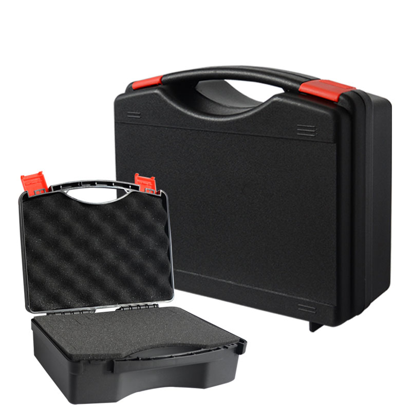 Portable Plastic Box Safety Box Hardware Toolbox Safety Protective Box  Equipment Instrument Ca'se With Pre-cut Sponge