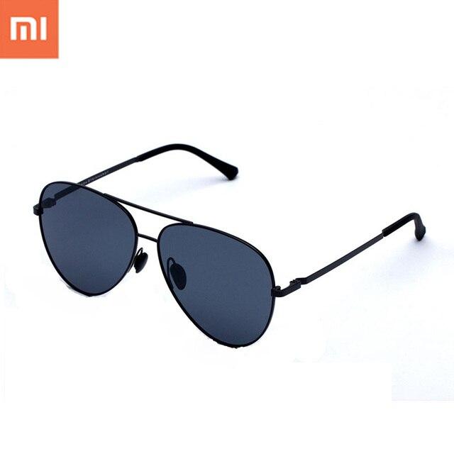 b7e54d89326ad Original Xiaomi Inteligente óculos de Sol de Lentes Polarizadas óculos de  Sol Espelho Inoxidável TS Nylon