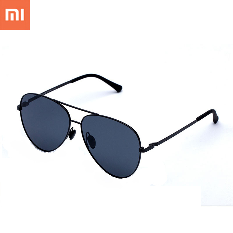 Original Xiaomi Smart Sunglasses TS Nylon Polarized Stainless Sun Mirror Lenses 100% UV-Proof Light For Man Woman Outdoor Travel in stock xiaomi turok steinhardt ts brand nylon polarized stainless sun lenses 18g edgeless 100