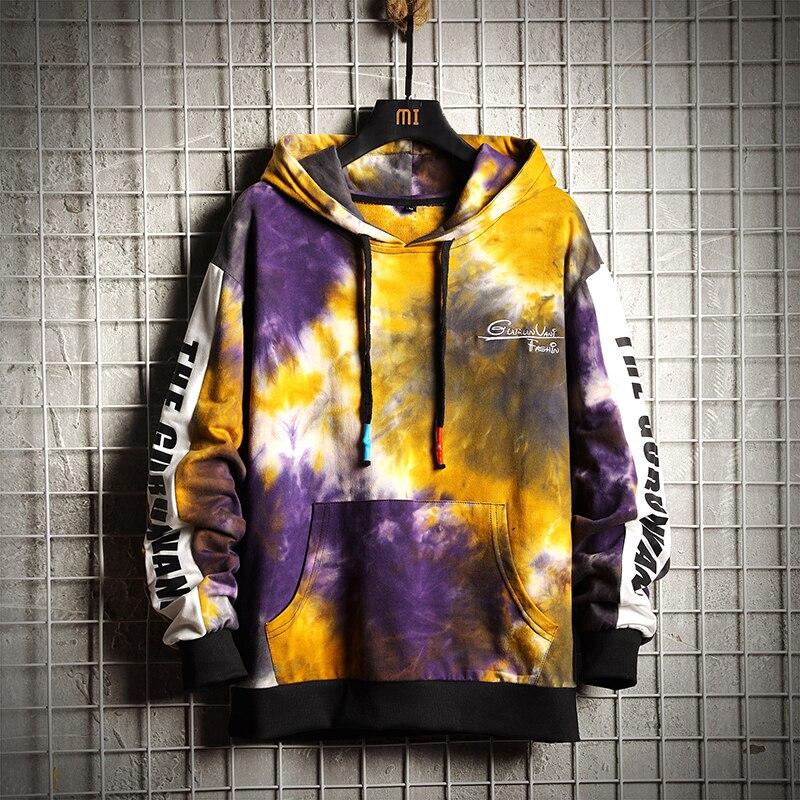 Sweatshirts Men Hoodies Pritned Funny Pullover Unisex New Arrival 2019  Outwear Pockets Coats Stranger