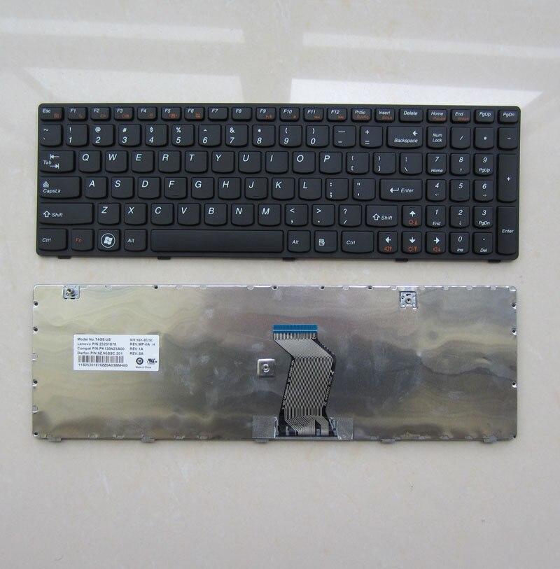 YENI LENOVO G580 Z580 G585 Z585 V580 laptop klavye ABD versiyonu