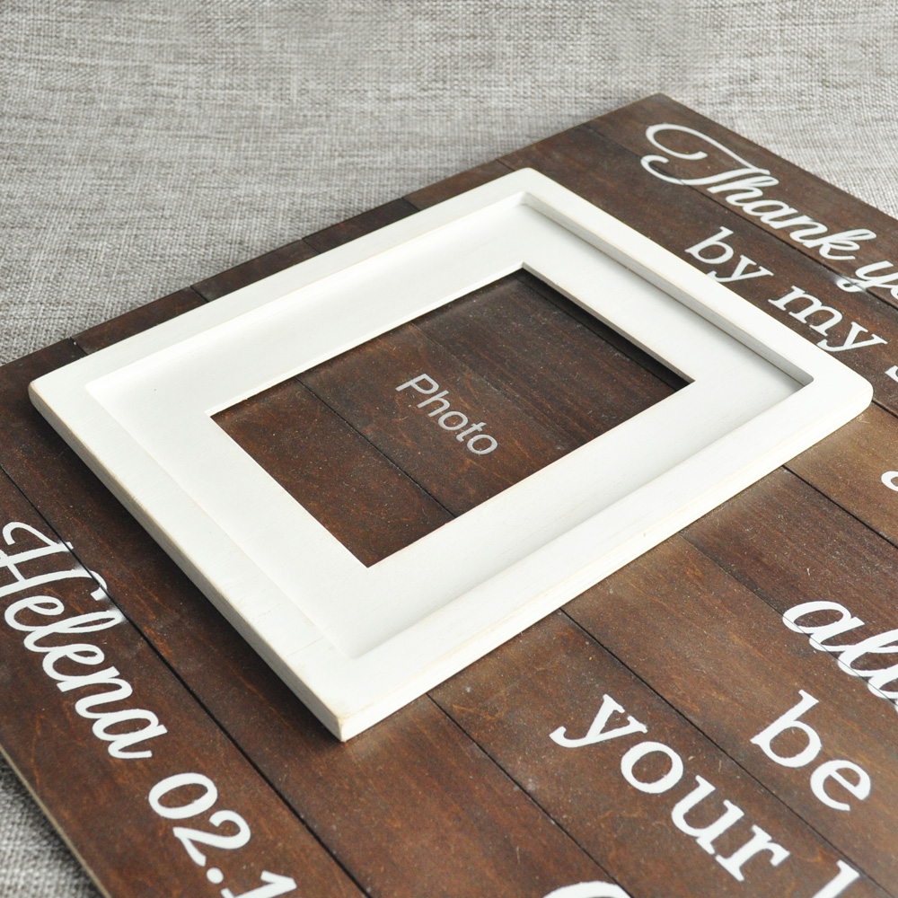 Personalized Daddy's Girl Picture Frame Memorial Picture Frame Fathers Day Gift Photo Frame-in Frame from Home & Garden    3