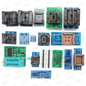 Image 2 - 100% XGECU Original  TL866II Plus Universal Programmer+17 Adapters+SOP8 IC Clip  High speed TL866 Flash EPROM Programmer