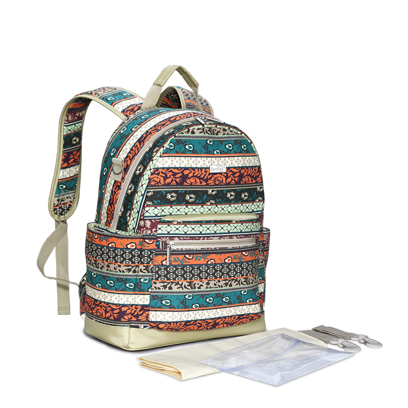 Insular New Arrival Multifunctional Baby Diaper Bag Backpack Canvas Large Capacity Mommy Bag Nappy Bag Backpack цена 2017