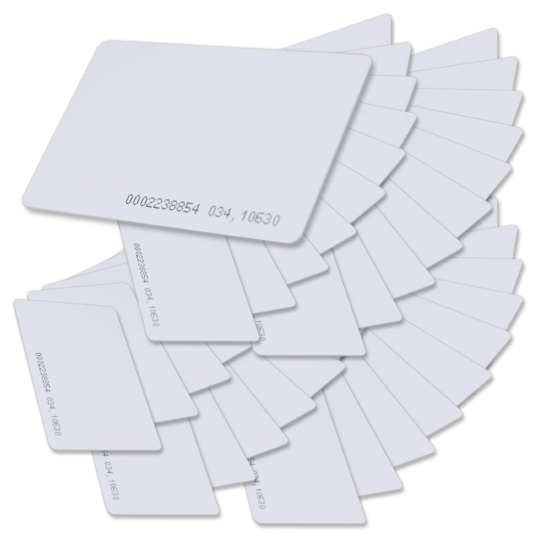 SainSmart Generic Contactless 125kHz EM4100 RFID Proximity ID Smart Entry Access Card (pack of 50) new usb rfid id contactless proximity smart card reader em4001 em4100 windows credit card machine