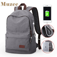 2016 Hot New Arrival Canvas Men S Women S Backpack Mochila 15 6 Inch Preppy Laptop